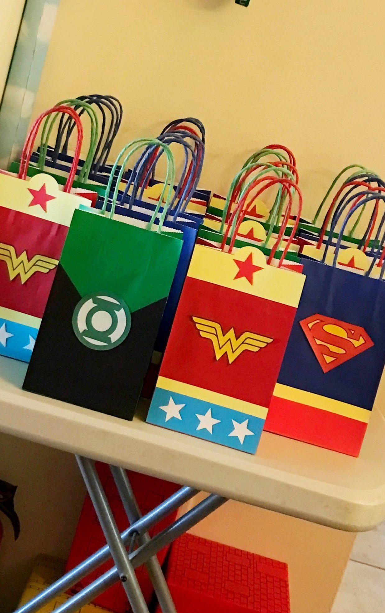 DC Super Hero Goody Bags