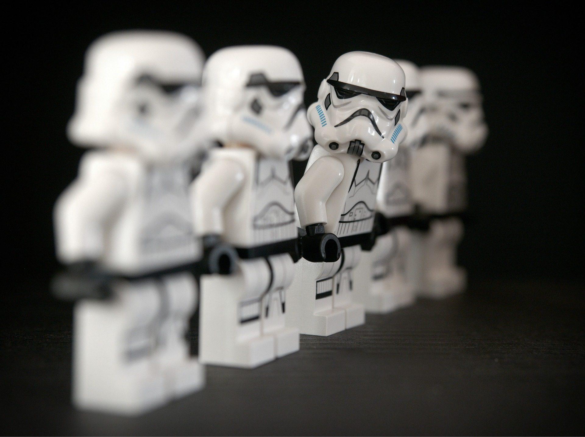 Storm Trooper Legos
