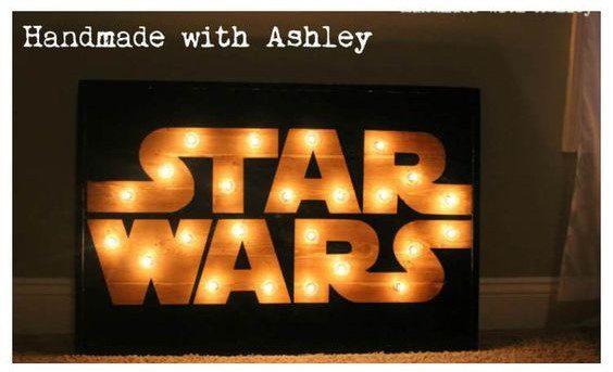 Star Wars Lighted Sign