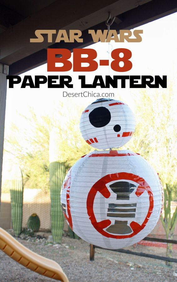Star Wars BB8 Party Lantern
