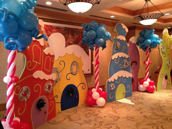 Whoville Party Decorations - Dr. Seuss