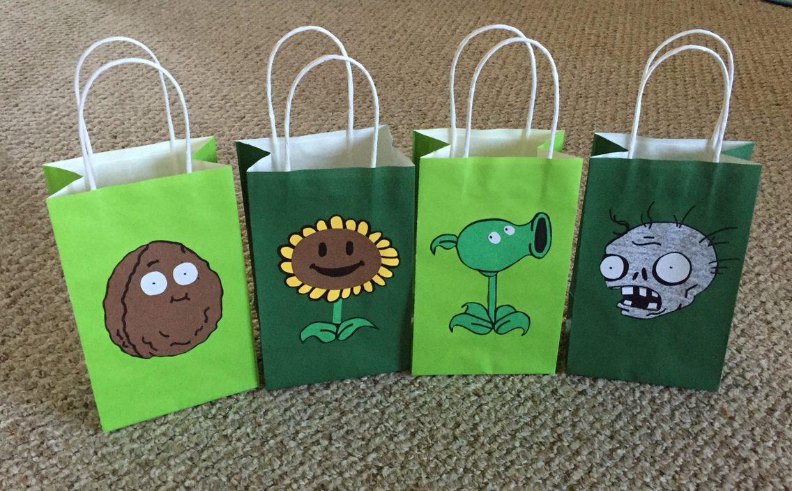 Plants vs. Zombies Goody Bags