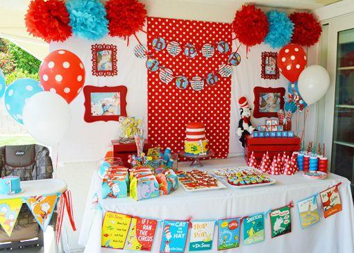 Dr. Seuss Party Decorations