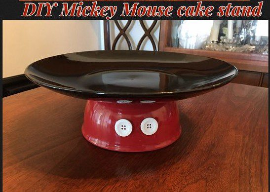 Mickey Mouse Cake Serving Plate