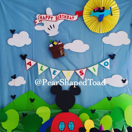 Mickey Mouse Clubhouse Party Decoration