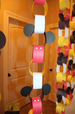 Mickey Mouse Party Decoration
