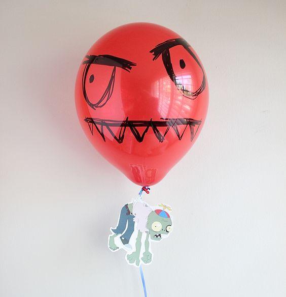 Plants vs. Zombies - Balloon Zombie Party Decoration