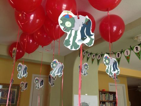 Party Balloon and Zombie-Plants vs. Zombies