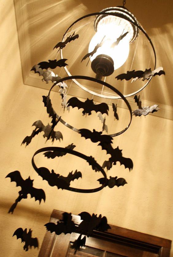 Batman Party Chandelier Decoration