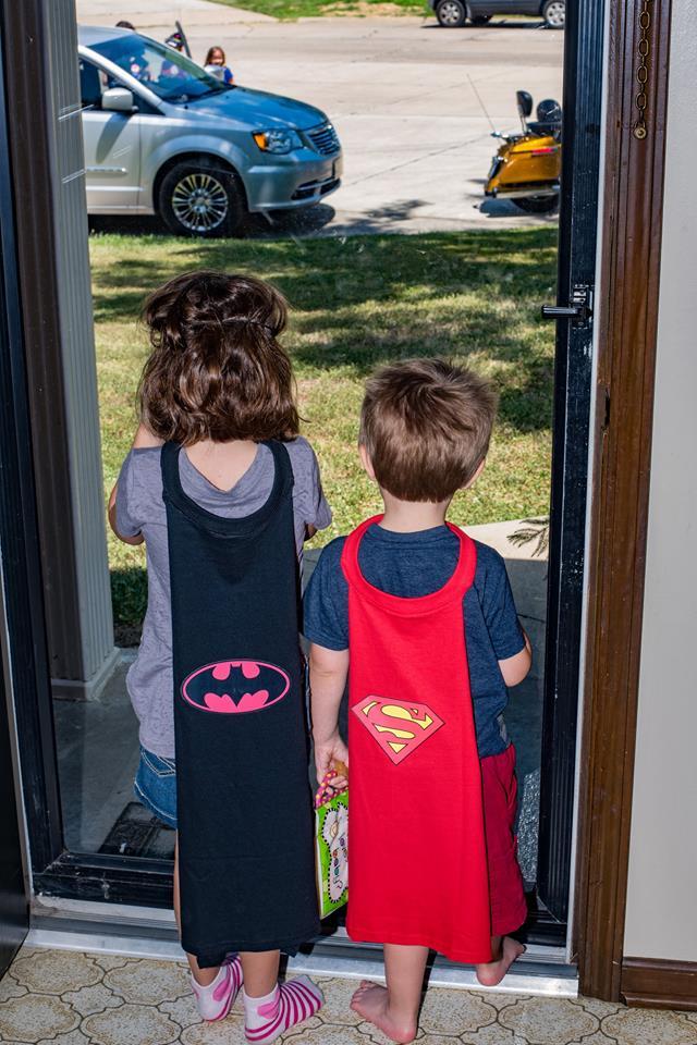 Batman Party Capes