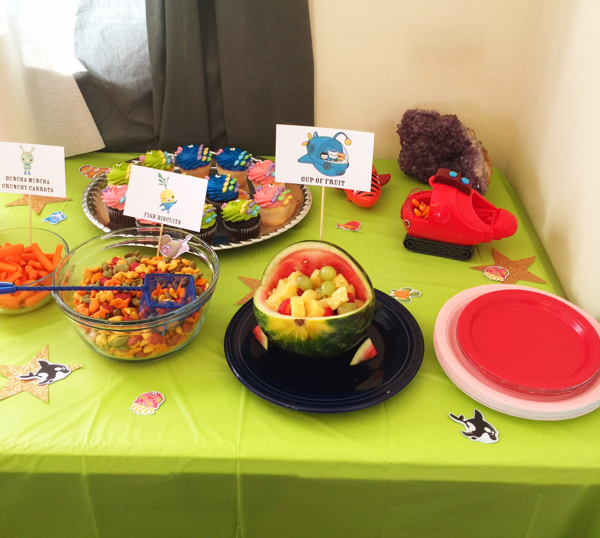 Under the Sea Party Food