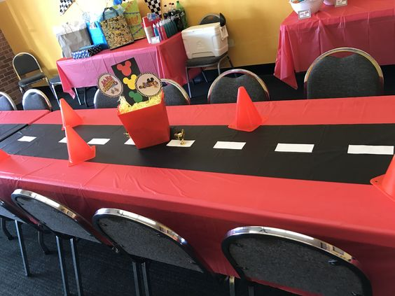 Mickey Mouse Roadster Racers party ideas